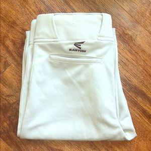 Easton Baseball pants adult size small. NWOT